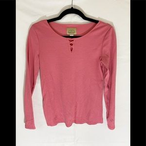 ❤️ 3/20 Pink Long Sleeved Top